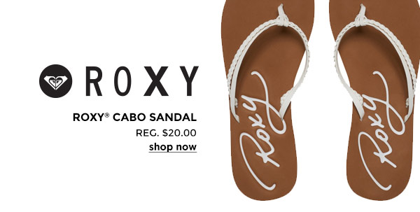 Roxy Women's Cabo white
